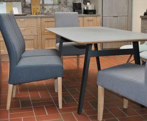 Schweizer Kante Tisch Esstisch Platte Fenix