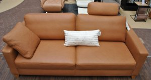 Sofa Couch 3-Sitzer in Leder