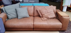 Couch Sofa Leder Natura